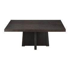 "Perry Square Dining Table, Ebony Oak, 72""x72"""