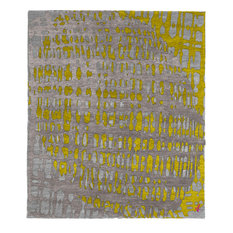 Christopher Fareed Design Studios - Mammoth C Hand Knotted Tibetan Rug, 9'x12' - Area Rugs