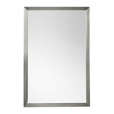 Ronbow 603423 Contemporary 23x34 Metal Framed Bathroom Mirror