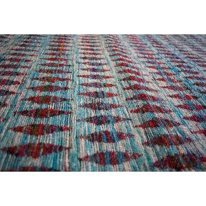 Moroccan Sari Silk Area Rug, 120x180 Cm
