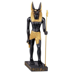 Osiris Isis And Horus Statue - Traditional - Decorative