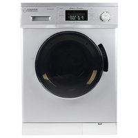 All-in-One 1200 RPM Compact Combo Washer Dryer with Optional Condensing/ Venting