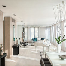 Houzz Tour: Two Flats are Merged to Create a Light, Spacious Apartment