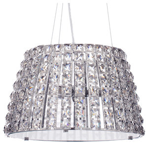 Marquis by Waterford, Moy Large Bathroom Ceiling Pendant, Chrome