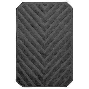 Path Rectangular Rug, Stone Grey, 200x140 cm