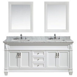 Traditional Bathroom Vanities And Sink Consoles by Burroughs Hardwoods Inc.