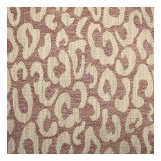 Santana Leopard Print, Modern Texture Upholstery Fabric, Mulberry