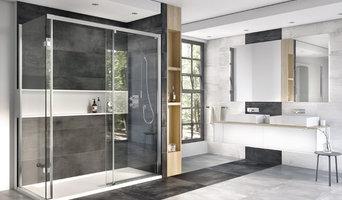 Decem Level Access Sliding Door Shower Enclosure