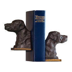 Lab Bookends, Set of 2, Bronze