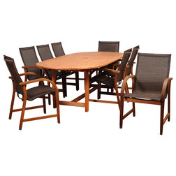 Vintage Transitional Outdoor Dining Sets by International Home Miami Corp
