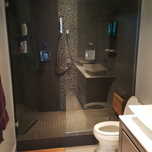 Room of the Day: Master Bathroom Loses a Tub and Gains Sophistication