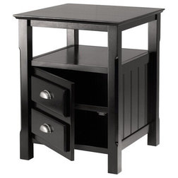 Transitional Nightstands And Bedside Tables by Homesquare
