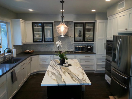Charming New Kitchen Remodel W/ Marble Slab?? Orange County CA