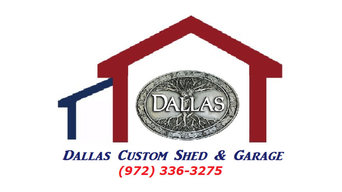 storage sheds and garages in Dallas tx