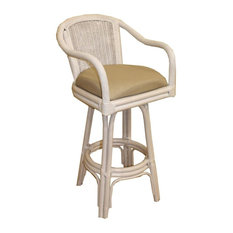 Strange 50 Most Popular Wicker Rattan Bar Stools And Counter Customarchery Wood Chair Design Ideas Customarcherynet