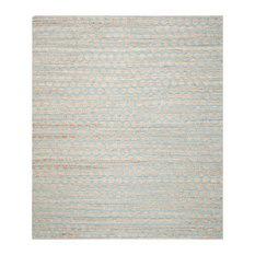 Claire Hand Woven Rug, Blue/Natural, 10'x14'