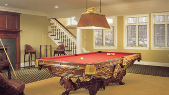 Bucks County Residential Billiard Room