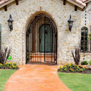 colorfully Rustic Spanish Eclectic