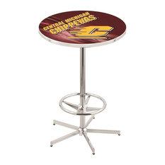 Central Michigan Pub Table 28-inch