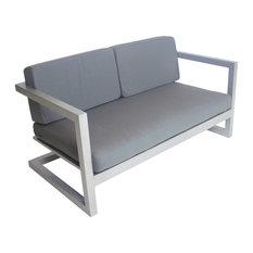 Outdoor Alhama Sofa, Silver
