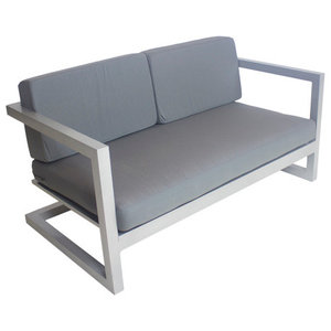 Outdoor Alhama Sofa, Silver