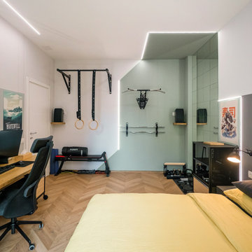 Autonomi in 60 mq: Casa, Ufficio, Palestra, Cinema