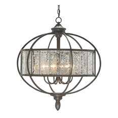 Currey and co chandeliers houzz currey company inc currey co 9330 florence bronze gold mirror aloadofball Image collections