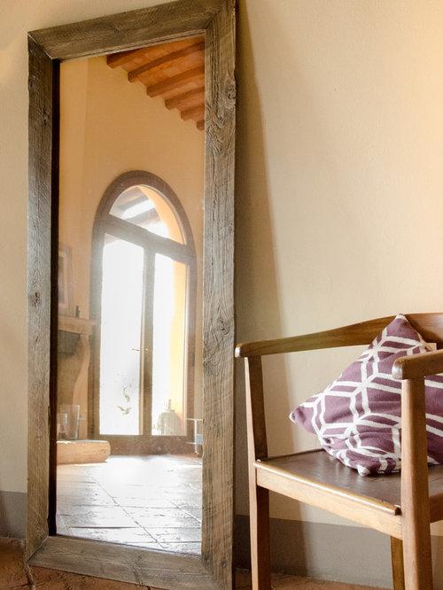Specchi con cornici in legno di recupero - Specchi da ingresso ...