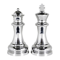 Eichholtz Chess King and Queen, Extra Large, 2-Piece Set