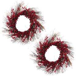 Farmhouse Wreaths And Garlands by Gerson Company