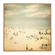 Deny Designs Shannon Clark Vintage Beach Framed Wall Art