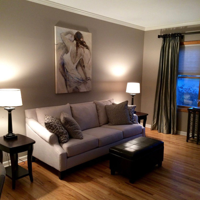 Clifton Park Transitional Home Staging