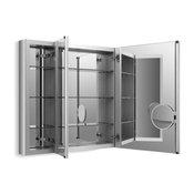"Kohler Verdera Medicine Cabinet w/ Adj. Flip-Out Flat Mirror, 40"" W X 30"" H"