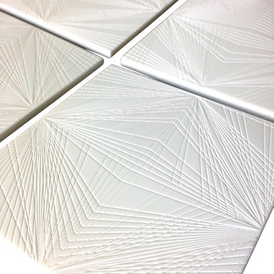 Contemporary Coasters Diamond Cut Coasters, Set of 4