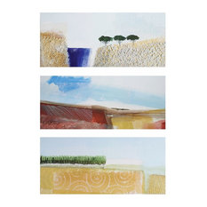Sterling Industries Exclusive Livio Cimisso 24x12 Print on Canvas, Set of 3