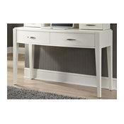Liberty Furniture Avalon II Bedroom Vanity Desk, White Truffle