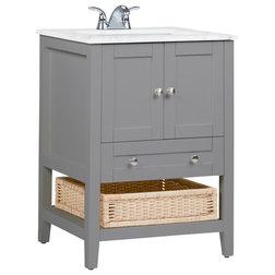 Tropical Bathroom Vanities And Sink Consoles by Simpli Home Ltd.