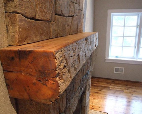 Rustic Fireplace Mantel Design Ideas