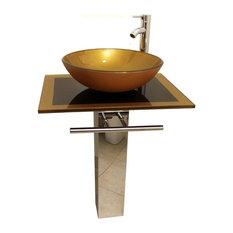 Bathroom Vanities With Vessel Sinks bathroom vanities for vessel sinks | houzz