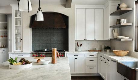 New This Week: 6 Modern Farmhouse-Style Kitchens