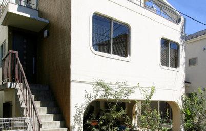 レトロな「アールサッシ」を活かした、築40年RC造住宅のリノベーション