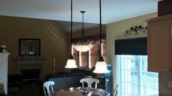 Nesconset kitchen lighting