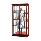 Chinese Rosewood Curio Large Display Cabinet Room Divider - Asian - China Cabinets And Hutches ...