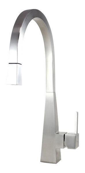Ariel Sprayer Kitchen Faucet - Modern - Kitchen Faucets - by eModern ...