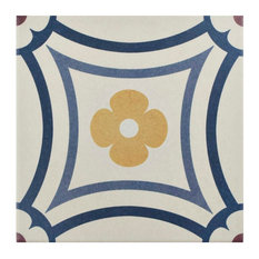 "7.88""x7.88"" Piccola Porcelain Floor and Wall Tiles, Saint Tropez, Saint Tropez"