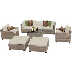 Good Contemporary Outdoor Lounge Sets by Design Furnishings