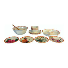 Merritt International - Merritt International Botanica Bamboo Complete Service for 4 - Dinnerware Sets  sc 1 st  Houzz & 50 Most Popular Tropical Dinnerware Sets for 2018 | Houzz