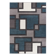 "Well Woven Ruby Blue Area Rug, 7'10""x9'10"""