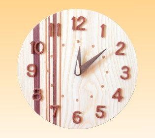 丸時計4 - 壁掛け時計