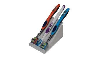 Easy Clean Toothbrush Holder, White